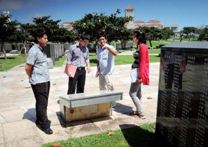 カンボジア、沖縄に学ぶ歴史共有 「平和教育まだない」