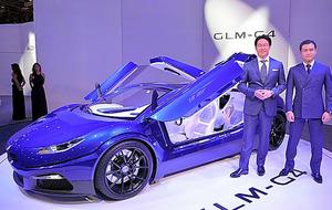 GLMが発表した電気自動車のスーパーカー「G4」