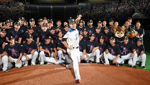 日本ハム、勝利でリーグ戦締める 引退の武田勝が先発