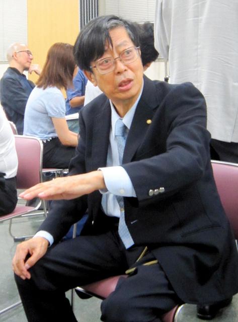前川洋一郎さん