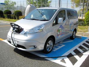 県が公用車として所有する電気自動車=県提供