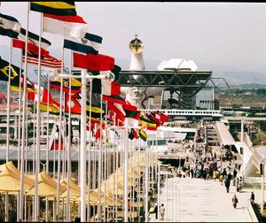 1970年の大阪万博。6400万人を超す人が訪れた