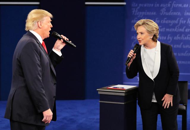 2016米大統領選 第2回討論会
