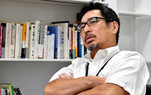 「福島の負のイメージを払拭するのは容易ではありません。原発被災者の苦悩を理解して下さい」=仙波理撮影