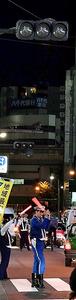 復旧が遅れ、消えたままの信号機=12日午後5時51分、東京都豊島区東池袋1丁目、恵原弘太郎撮影