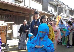 チームで和装コスプレ、賞金3万円も 来月、千葉で大会