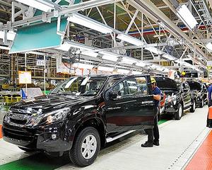 タイのいすゞ自動車の工場=2012年10月