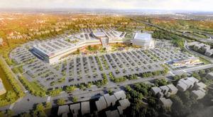 伊達市が誘致を進める大型商業施設のイメージ図