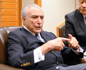 「日本との関係を重視」 ブラジル・テメル大統領初来日
