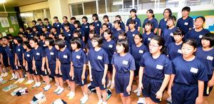 栃木)那須塩原市立三島中、6年連続 全日本合唱コン