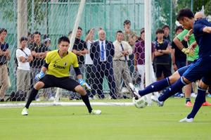 GK限定の候補合宿、初招集組も奮起 サッカー日本代表