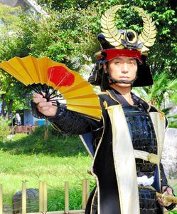 おもてなし武将隊の徳川家康