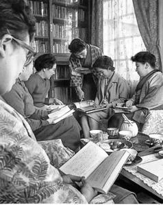 1963年のとある読書会。どんな言葉が交わされているのだろうか
