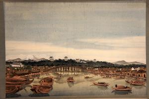 作者不明の西洋画、北斎作だった オランダの博物館に