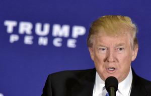 トランプ氏、TPP離脱など「米有権者との契約」発表