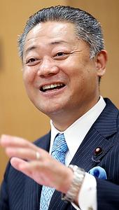 馬場伸幸・日本維新の会幹事長=早坂元興撮影