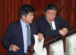 TPP、27日に集中審議 与野党が合意