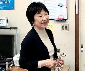 避難所で女性の声に耳を傾けた浅野富美枝さん