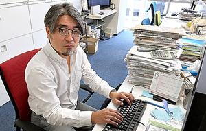 「とにかく反響がすごい」と話すradikoの青木貴博業務推進室長=東京都港区