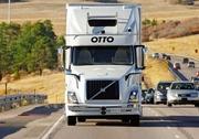 自動運転トラック、高速走った 米で缶ビールを配送