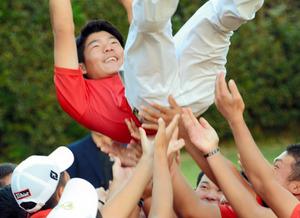 男子は大嶋、女子は松田が初優勝 ゴルフ日本学生選手権