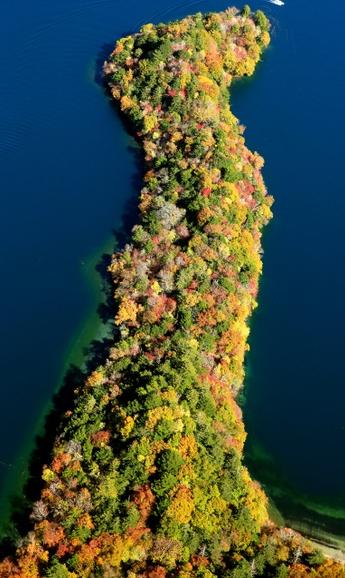 日光・中禅寺湖で紅葉が最盛期 冷え込みで一気に色づく