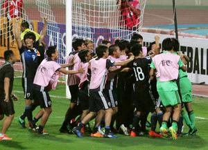 サッカーU19日本、耐え抜いてV 大一番で結束力