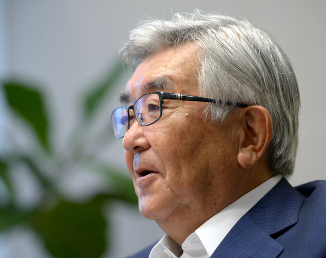 斉藤惇さん(77)は「市場が否定されれば結果がより悲惨になることは歴史が教えている」と語る=西田裕樹撮影