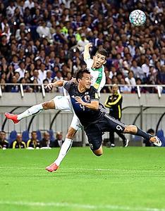 5万7768人の観衆が入った10月6日のW杯予選のイラク戦