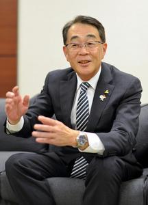 H2Oリテイリングの鈴木篤社長