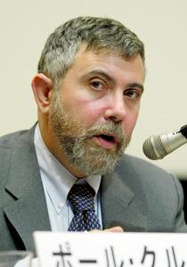 ポール・クルーグマン氏 米プリンストン大教授 ノーベル経済学賞