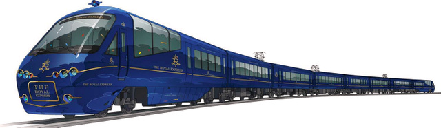 伊豆急行の新型観光列車「THE ROYAL EXPRESS」の外観イメージ=ドーンデザイン研究所提供