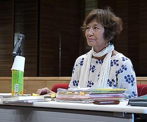 全国で講演を続ける正井礼子さん=9月、大阪市