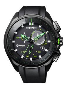 シチズン時計の「エコ・ドライブ Bluetooth」(希望小売価格は8万円。いずれも税抜き)