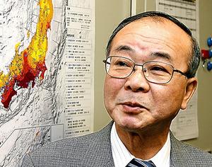 東海地震の「判定会」会長になったころの阿部勝征さん=2008年
