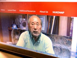 被爆者の証言映像を紹介しているサイト「NAGASAKI ATOMIC HISTORY AND THE PRESENT(長崎原爆史と現在)」