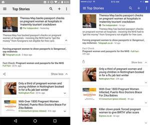 グーグルが作った「ファクトチェック」の機能。記事の下の方に「Fact Check」という項目がある=グーグルのブログから