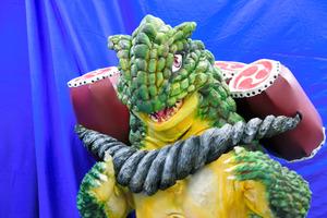 神戸ご当地怪獣「ニゲロン」、自主制作映画に込めた願い