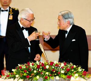 皇居で宮中晩餐会を開催