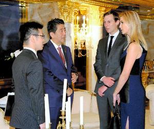 イバンカ氏、日本のアパレルと交渉 契約は「未決定」