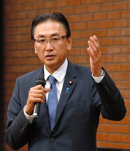 古屋圭司・自民党選挙対策委員長