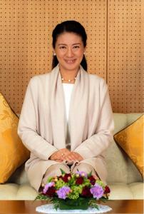 誕生日を迎えた皇太子妃雅子さま=東宮御所、宮内庁提供
