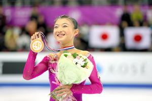 坂本花織が銅メダル フィギュアジュニアGPファイナル