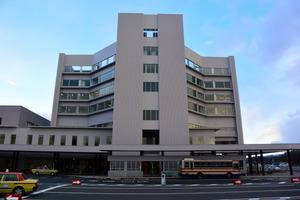 センターで最後に完成したみらい棟=福島市の県立医科大ふくしま国際医療科学センター