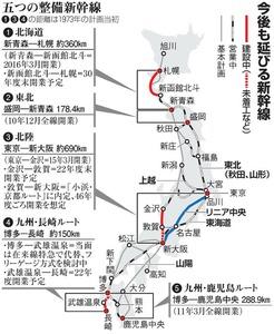 今後も延びる新幹線