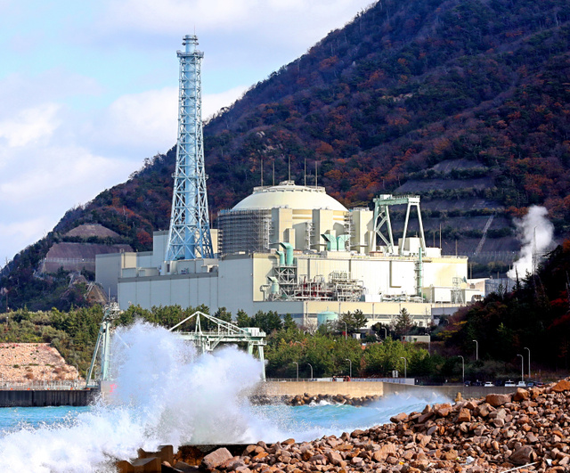 高速増殖炉「もんじゅ」=2日、福井県敦賀市、細川卓撮影