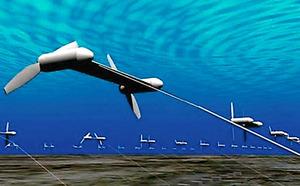 海流発電装置のイメージ図=IHI提供
