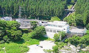 東京都が持つ水力発電所=東京都青梅市、都提供