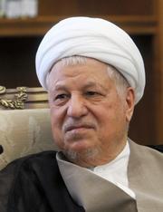 イランのハシェミ・ラフサンジャニ元大統領=14年7月、テヘラン、イラン公益評議会提供