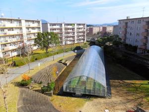 UR都市機構の「日の里団地」にある農業施設「日の里ファーム」=福岡県宗像市